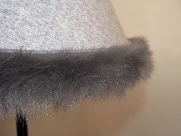 Abat-jour sur mesure en laine et fourrure pour style chalet montagne