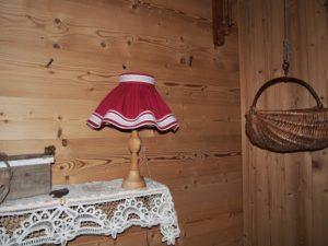 Abat-jour sur mesure montagne fabriqué en Haute Savoie près d'Annecy, Genève, Megève, Chamonix, Sallanches, Thonon