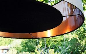 Abat-jour-cylindre-80cm-noir-cuivre-restaurant-genecand-geneve-jade-creation-haute-savoie-suisse