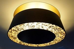 Ecrans diffuseurs sur luminaire Hôtel Palace Genève | Jade Création