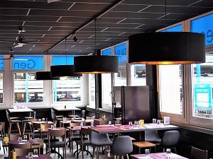 Abat jour-grand format-restaurant-Genève-Genecand Traiteur