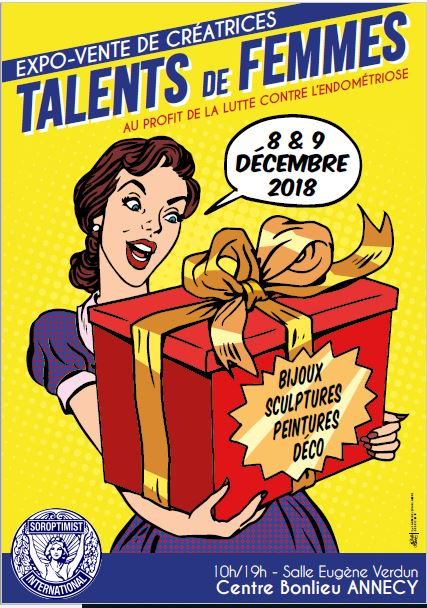 affiche talents de femmes 2018 Annecy
