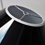 Matière noire brillante pour abat-jour design | Jade Création