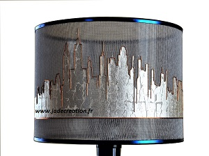 sky line-new york-abat jour-design-moderne-jade creation