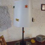 Abat-jour pour lampe de Jean-Charles de Castelbajac